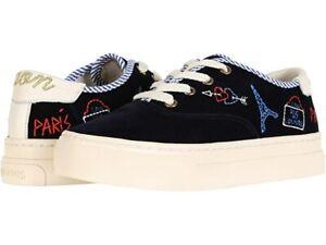 NEW in Box Soludos Women's Paris Platform Sneaker *Navy SZ: 5.5 - 11