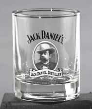JACK DANIEL'S CAMEO SHOT GLASS OFFICIALLY LICENSED