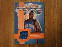 2003-04 Bowman Fabric of the Future Mike Sweetney Jersey Card (B22) Knicks