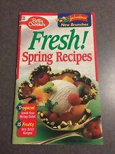 Betty Crocker Cookbook #80 Fresh Spring Recipes May 1993 Paperback