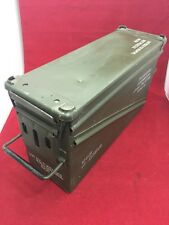 MILITARY PA120 40mm BA30 Stackable Ammo Can Green Ammunition Tin Great Condition