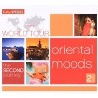 WORLD TOUR II-ORIENTAL MOODS 2 CD 34 TRACKS WORLD MUSIC TAHOSER UVM NEU