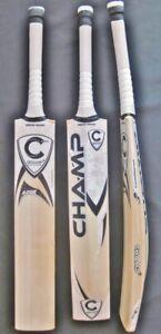 CRICKET BAT CHAMP ADGE (Grade 1 English Willow) PROFESSIONAL PLUS FREE EXTRAS