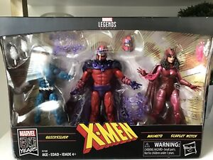 Marvel Legends X-Men Magneto, Scarlet Witch & Quick Silver Family Matters 3 Pack