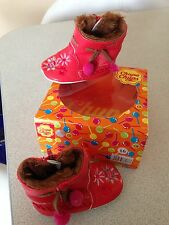 Bottines rouge CHUPA CHUPS taille 16