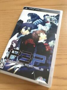 USED PSP persona 3 portable sony playstation From Japan