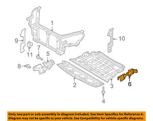HYUNDAI OEM 10-15 Genesis Coupe Radiator Core Support-Side Cover Left 291303M501