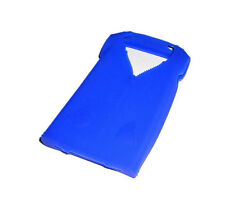 NEW BLUE SHIRT SILICONE RUBBER GEL APPLE IPHONE 4 4S CASE SUPER FAST SHIPPING