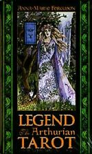Legend the Arthurian Tarot NEW Sealed 78 Cards Anna-Marie Ferguson King Arthur