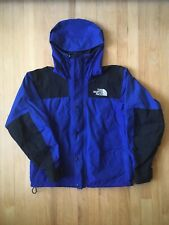 Vintage North Face Mountain Guide Jacket Mens Medium Blue Gore Tex 90s