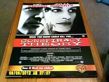 Teoria del complotto (Mel Gibson, Julia Roberts) FILM POSTER A2