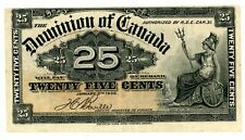 Canada . P-9b . 25 Cents . 1900 . Choice *Vf-Xf*