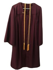 Graduation Gown - Maroon- ASU - With Tassel