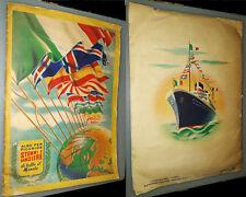 Albo per figurine Stemmi e bandiere di tutto il mondo, Collezioni Lampo 1951.