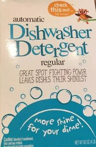 New Case of 8 4.1 LB Boxes Automatic Dishwasher Detergent Powder Fast Shipping