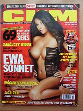 CKM (FHM) Poland, 11/2005, November 2005 EWA SONNET on front cover [very rare!]