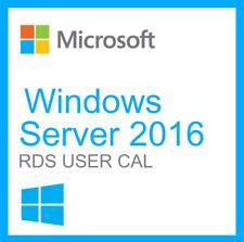 MICROSOFT Windows Server 2016 opzione 50 utente RDS CALS PER STANDARD/data center
