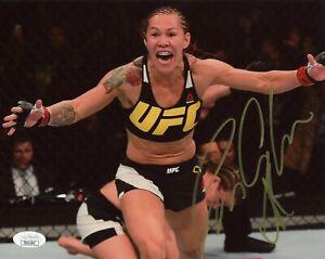 Cris Cyborg Signed 8x10 Photo UFC Fighter JSA COA Autograph Cristiane Justino #2