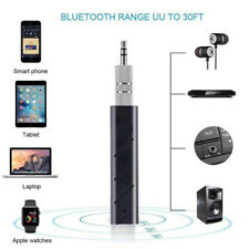 Wireless Bluetooth Hands-Free 3.5mm Jack AUX Audio Stereo Receiver Adapter B