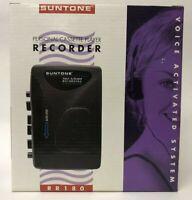 Suntone Personal cassette player recorder voice activated recorder New in box