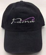 Puma Logo Curved Brim Buckle-Back Cap Hat NEW SEE DESCRIPTION!