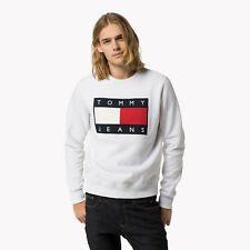 Tommy Jeans Hilfiger Men Sweater Jumper Flag Logo Size: S, M