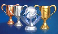 Playstation 100 Platinum Trophy PSN PS4 PS3 PS VITA