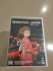 Spirited Away  DVD  2 disc set   Region 4