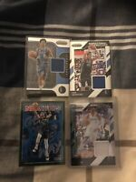 Panini Prizm And Hoops Luka Doncic Base And Mavs Jersey Cards Dirk