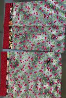 Mary Engelbreit Fabric 2 Pillowcases Handmade Cherry Fabric Face Mask