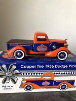 1936 DODGE PICKUP-1995 LIB.CLASSICS 1:25 SCALE #72011 COOPER TIRES BANK #6