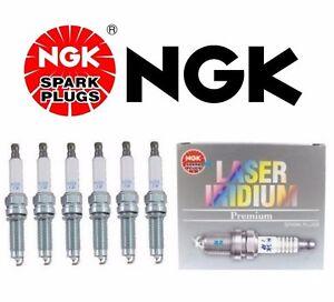 For 6-Pieces OEM Recommended NGK Lasser Platinum Spark Plugs Audi VW V6