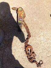 Harrington LB015 1-1/2 Ton Lever Chain Hoist, 5' Lift Cap, Puller, Come Along