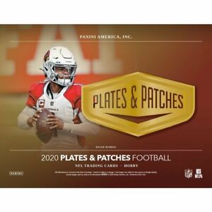 CHARLES WOODSON 2020 PANINI PLATES & PATCHES FOOTBALL FULL CASE (12 BOXES) BREAK