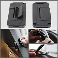 2x Car Seat Belt Strap Adjuster Stopper Buckle Improves Comfort Safety for BMW