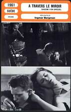 A TRAVERS LE MIROIR - Ingmar Bergman(Fiche Cinéma) 1961 - Through a Glass Darkly