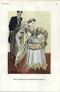 30's Risque Cartoons Petty Girl I've Always Wanted A Bank Bundy Don't Cry Darlin
