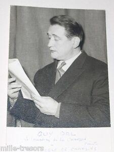 PHOTOGRAPHIE de Guy DAL - Le Comédien de la Chanson
