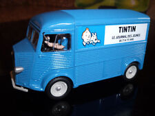 CITROEN  HY LE  JOURNAL  DE  TINTIN  REALISE  BASE  SOLIDO  1/43  NO  ATLAS