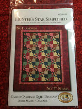 Hunter's Star Simplified Quilt Pattern by Debbie Maddy for Calico Carriage