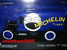 """Ford Model """" T """" Van Michelin Tyres to the / of 1 /43°"""