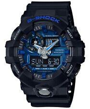 Casio Men's G Shock GA710-1A2 Black Rubber Quartz Sport Watch