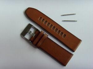 Diesel Original Spare Band Leather Wrist DZ4280 Watch Braun Strap 26 MM