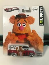 "3"" Mattel 1997 Hot Wheels The Muppets Fozzie Bear Real Riders Die Cast Car Van"