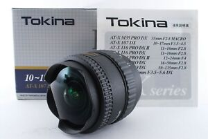 [MINT in Box] Tokina AT-X 107 DX FISHEYE 10-17mm f/3.5-4.5 for Nikon F  #T2355