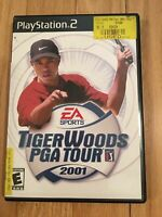 EA SPORTS TIGER WOODS PGA TOUR 2001 - PS2 - COMPLETE W/MANUAL - FREE S/H (W)