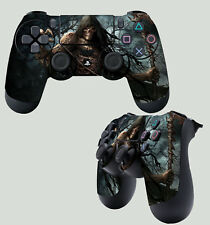 PS4 PlayStation 4 Joystick TAPPETINO ADESIVO Darker GRIM REAPER angel teschio