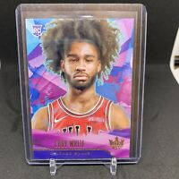 2019-20 Panini Court Kings Coby White Level 1 Level I Rookie RC SP Chicago Bulls