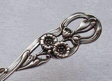 *RAR* Bruckmann Tortenheber Phantasiemuster Edelweiss 800er Silber #2