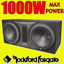 "Rockford FOSGATE PUNCH DOPPIA 12"" 1000w CAR AUDIO SUBWOOFER SUB WOOFER BASS BOX"